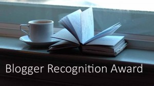 Blogger Recognition Award 2015